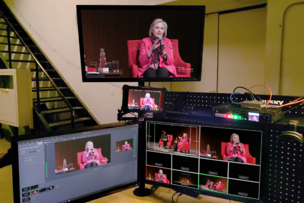 Live Stream with Hillary Clinton at LBJ School of Public Affairs UT Austin, Texas