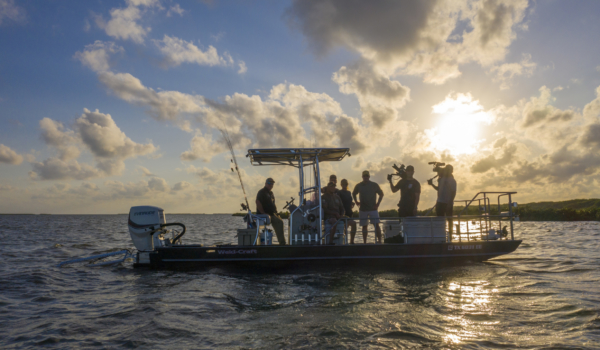 "Documentary Filming for Discovery's ""The Experience"" Seadrift, Texas"